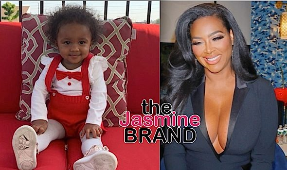 Kenya Moore Posts Adorable Video Of Daughter – She Tried To Escape Because She Wants To See Her Daddy In NY, They're On Lockdown