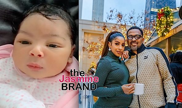 Mike Epps & Wife Kyra Welcome Baby Girl Indiana Rose! [VIDEO]