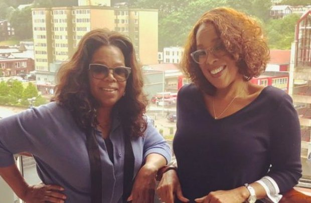 Gayle King Once Wrapped Herself In Saran Wrap In The Bedroom + Oprah Says 'It Doesn't Have To Be Spicy All The Time'