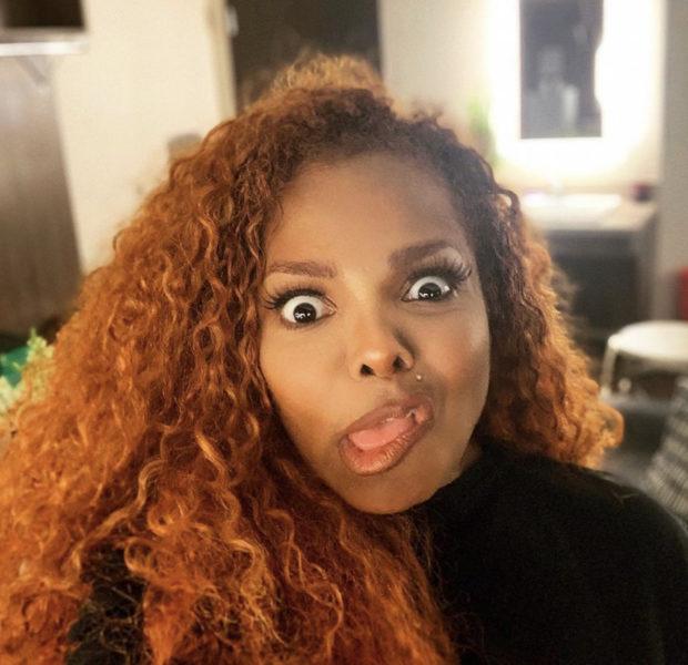 Janet Jackson Shares A Goofy Selfie [PHOTOS]
