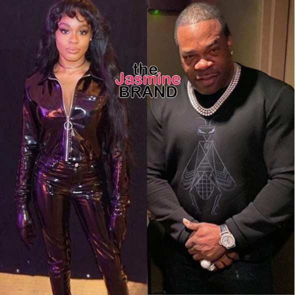 Azealia Banks Threatens To Expose Busta Rhymes: You Fat Steroid Neck Son Of A B*tch