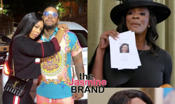 'LHHATL' Star Lil Scrappy's Mom Presents Obituary Of His Wife Bambi's Mom During Explosive Screaming Match [WATCH]