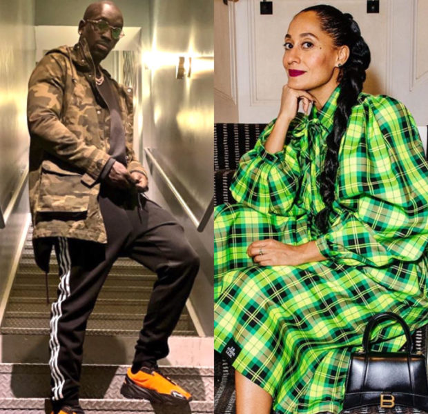 "Akon's Brother Bu Thiam Flirts With Ex-Girlfriend Tracee Ellis Ross: ""You Still Fine!"""