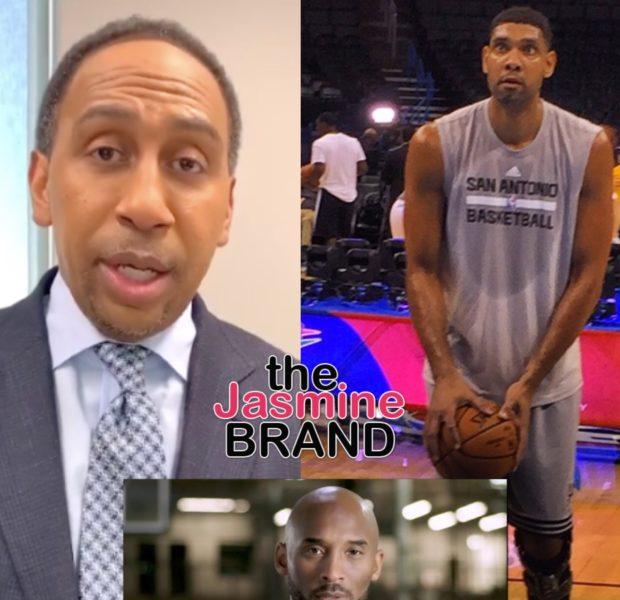 Tim Duncan Had A Better NBA Career Than Kobe Bryant, Says ESPN's Stephen A. Smith