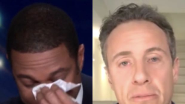 Don Lemon Cries While Discussing Co-Worker Chris Cuomo's COVID-19 Diagnosis