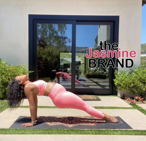 Kevin Hart's Wife Eniko Struts Baby Bump While Indulging In Prenatal Yoga