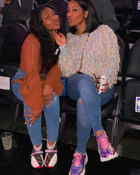 'Love & Hip Hop' Star Erica Dixon Lets 15-Year-Old Emani Date + Emani Gives Relationship Advice: If He Does Something Wrong, Block Him!