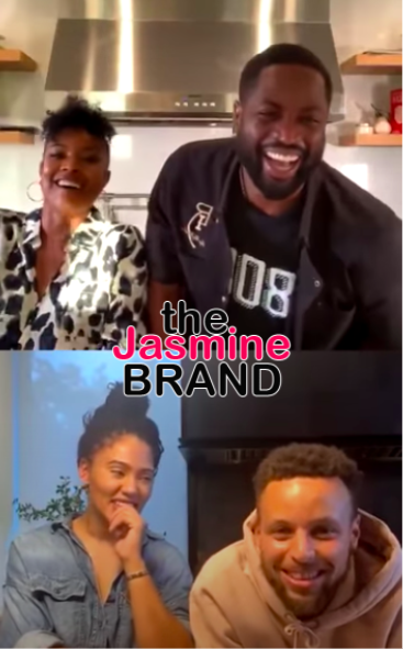 Gabrielle Union Hilariously Recalls Giving Steph & Ayesha Curry Relationship Advice Years Ago: I Told Them Break Up Now & Have Sex With Other People!