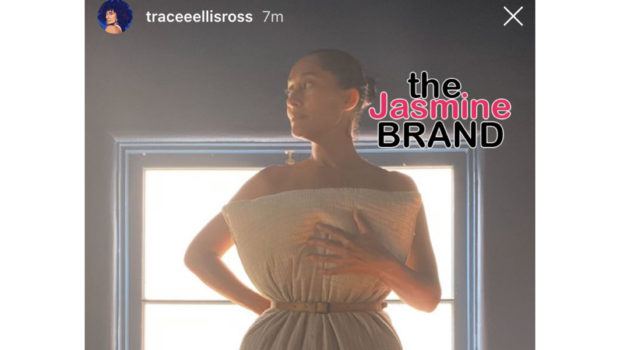 Tracee Ellis Ross Slays #PillowcaseChallenge While Wearing Only Pillowcase & A Waist Belt