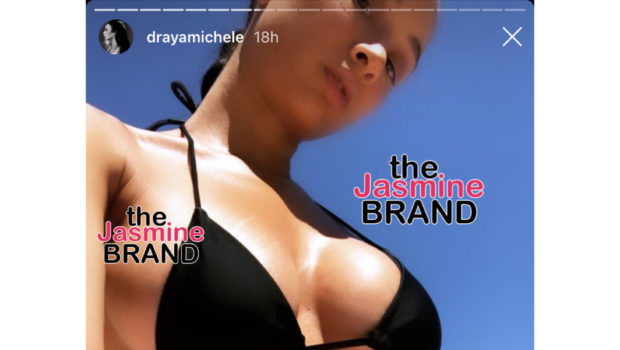 "Draya Michele Reminds Us That She's ""Never Been Married"", While Showing Off Her Bikini Body"