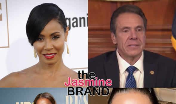 Jada Pinkett Smith Reveals She Has A Crush On NY Governor Andrew Cuomo + Queen Latifah Crushing On Supermodel Adriana Lima