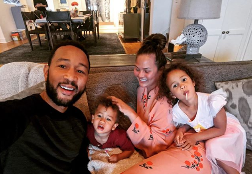 Chrissy Teigen Admits That Staff Are Helping With Her Kids During Quarantine