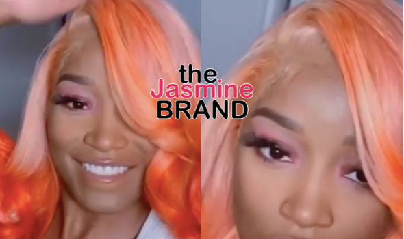 Keke Palmer Switches Up Her Look, Flaunts Bright Orange Hair [VIDEO]