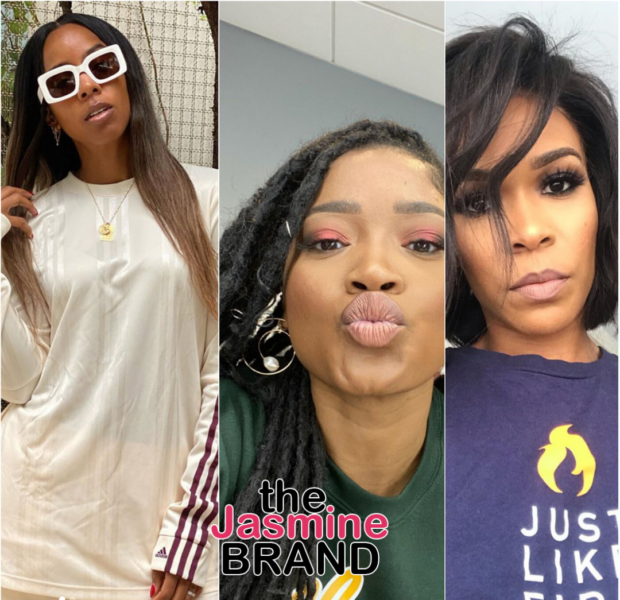 Keke Palmer & Kelly Rowland Have Racy Convo About Sex: I Didn't Understand Penetration + Michelle Williams Reveals: I'm Celibate!