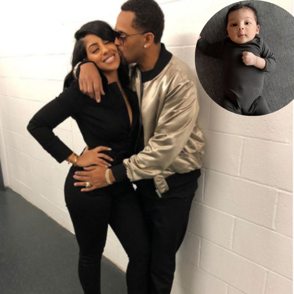Mike Epps & Wife Kyra Share Adorable Photos of 1 Month Old Daughter, Indiana Rose Epps