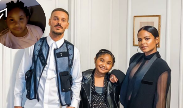 Christina Milian's Boyfriend Matt Pokora Accused Of Mocking Daughter's Bantu Knots