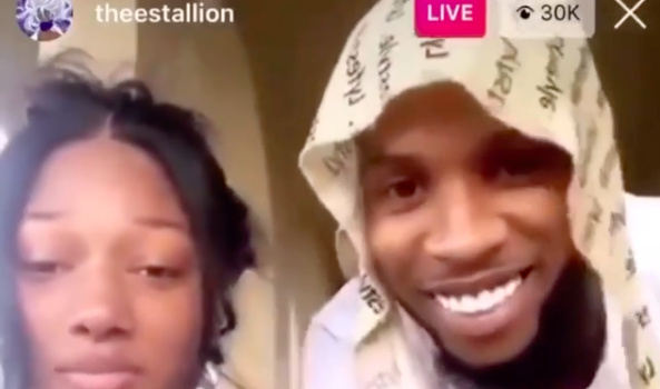 Megan Thee Stallion & Tory Lanez Spotted Hanging Out Together [WATCH]