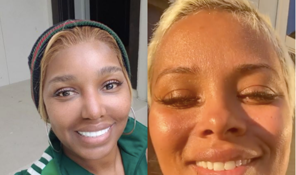 Nene Leakes Takes Part In Eva Marcille's No Makeup Challenge For 'RHOA' Cast: Next Time, Let's Show Our Bodies!