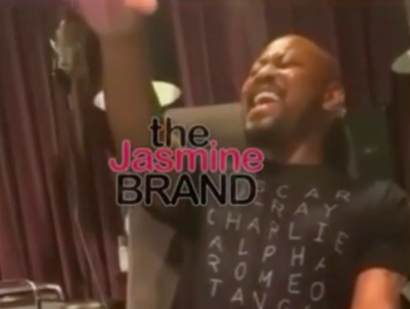 Actor Omar Epps Shows Off Vocal Skills! [WATCH]