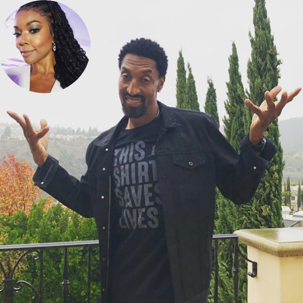 Gabrielle Union Distraught Over Scottie Pippen's Deal w/ The Chicago Bulls: I Don't Think I'm Gonna Be Able To Sleep