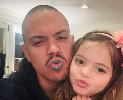 Evan Ross' Daughter Jagger Paints His Nails & Does His Makeup During Quarantine