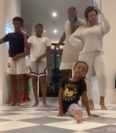LeBron James' Family Does Toosie Challenge, Daughter Zhuri Steals Spotlight [VIDEO]