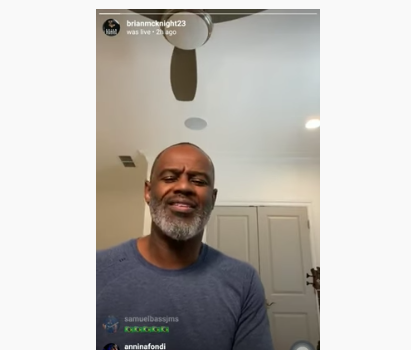 Singer Brian McKnight Show Off His Impeccable Vocals During IG Live Concert [VIDEO]
