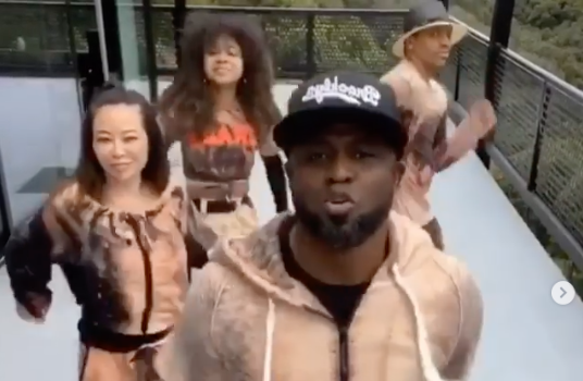 Wayne Brady Dances With His Ex-Wife & Her Boyfriend During Quarantine [VIDEO]
