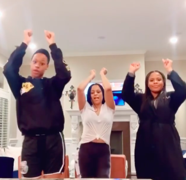 "Shaunie O'Neal & Daughters Challenge Shaq & Sons To Dance Battle, Shaq Responds ""Give Us 24 Hours"""