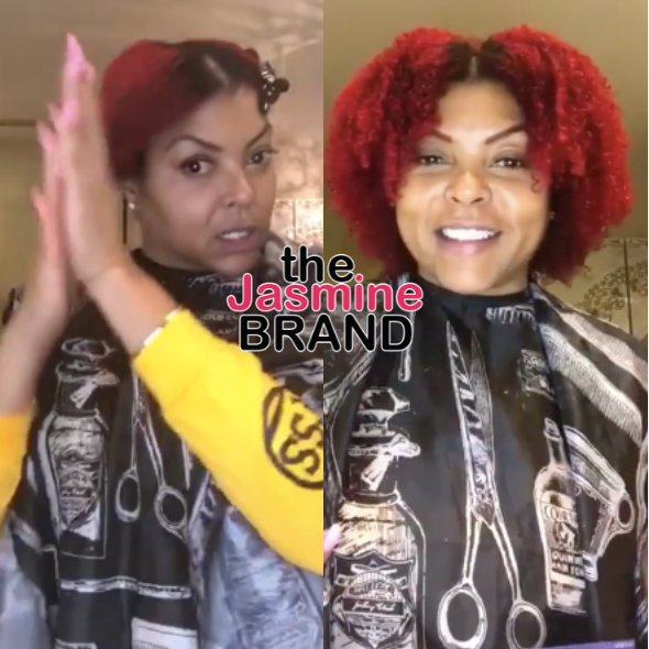 Taraji P. Henson Gives A Natural Hair Tutorial [WATCH]