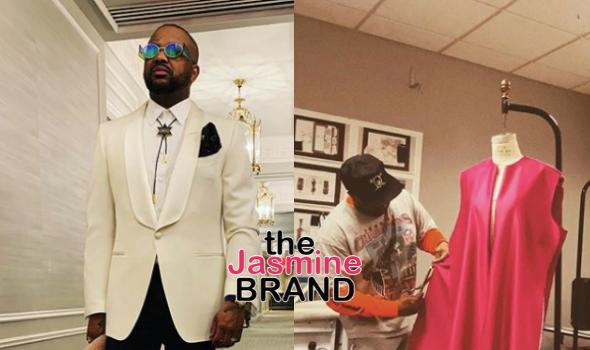 The Dream Is A Fashion Designer, Watch Him Cut Patterns & Sew Original Pieces