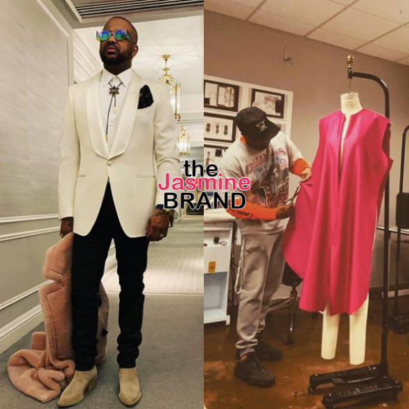 The Dream Is A Fashion Designer, Watch Him Cut Patterns & Sew Original Pieces