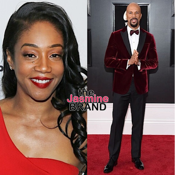 Common Is In Quarantine W/ Rumored Girlfriend Tiffany Haddish, She Jokes: I Can't Get My Birth Control Shot, So Let's See What Happens