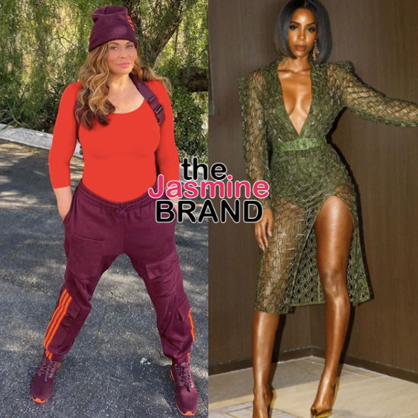 Tina Lawson Says Kelly Rowland's New After Dark Series Is 'Too Racy For Me', Kelly Responds: I'm Glad You're Gonna Sit This One Out!