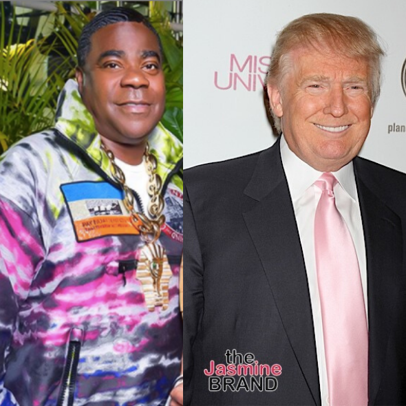 Tracy Morgan Sympathizes w/ Donald Trump: Imagine Being The President & Half The Country Got Sick [WATCH]