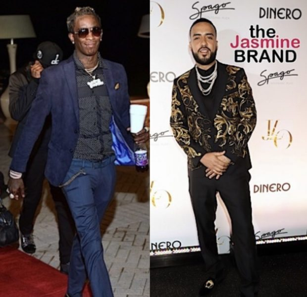 "French Montana Insults Young Thug For Wearing Skirts, Young Thug Reacts ""Meek Mill Beat Yo A**!"""