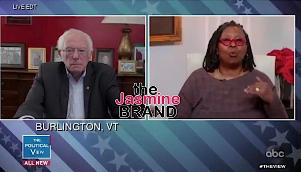 Whoopi Goldberg To Bernie Sanders: Why Are You Still In The Race? [VIDEO]
