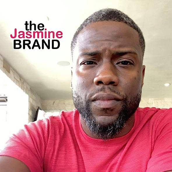 Kevin Hart Explains Why He Dyed His Gray Hair [VIDEO]