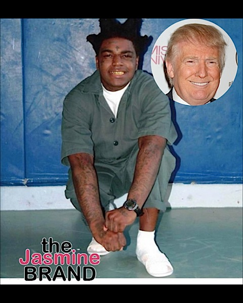 Jailed Kodak Black Wants A Meeting With Trump: I Have A Brilliant Idea, If It's Not Worth Anything, You Can Kill Me!