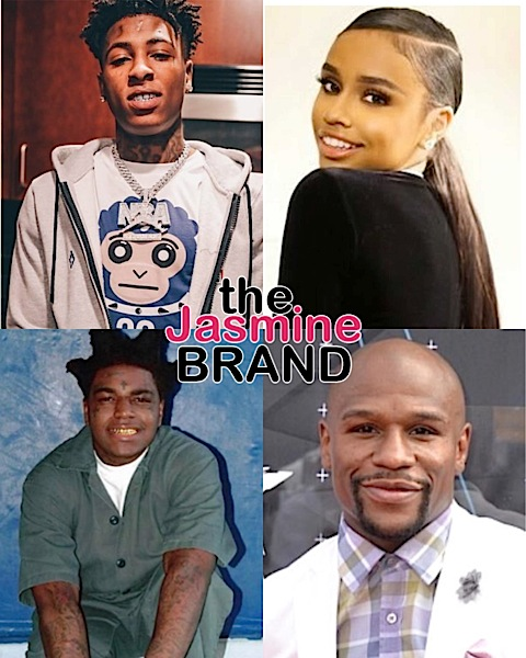 "Floyd Mayweather's Daughter Iyanna Is Out Of Jail After Allegedly Stabbing Woman Over NBA Youngboy + NBA Youngboy Lashes Out At Kodak Black & Calls Floyd A ""B*tch A** N*gga"""