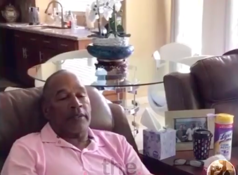 O.J. Simpson Joins TikTok & He's In The House Bored! [VIDEO]
