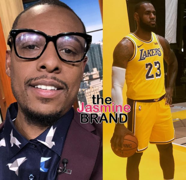 Former NBA Star Paul Pierce Insists Lebron James Isn't A Top 5 Player In History [VIDEO]
