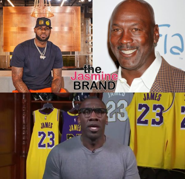 Shannon Sharpe Questions Why LeBron James Is Being Compared To Michael Jordan In Wake of 'The Last Dance' Docu [VIDEO]