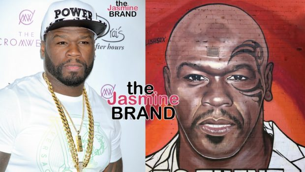 50 Cent Denies Having Graffiti Artist Attacked For Painting Celebrity Mashup Murals Of Him