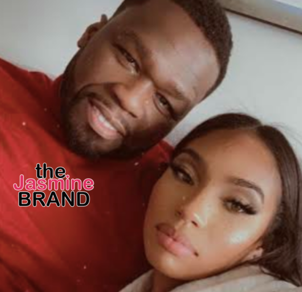 50 Cent Is All Smiles As He Cuddles Up With Girlfriend Cuban Link