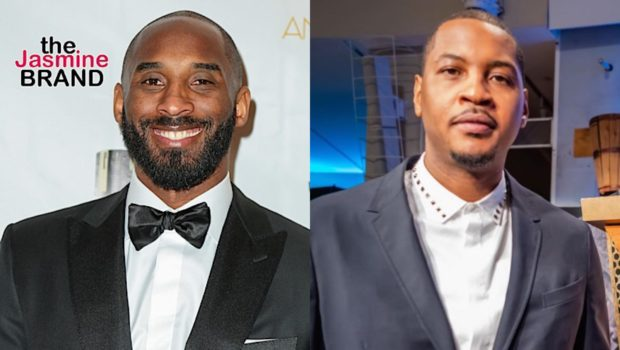 Carmelo Anthony Recalls Kobe Bryant's Support When He Hit 'Rock Bottom' While Being Unsigned in NBA
