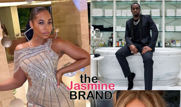 Ashanti Recalls Having To Convince Diddy That A Song She Wrote For J. Lo Wasn't About Him