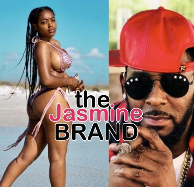 Azriel Clary Poses In Skimpy Bikini On The Beach After Cutting Up R. Kelly's Versace Coat [WATCH]