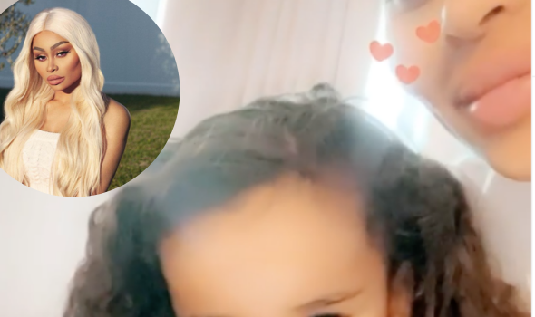 Blac Chyna Asks Daughter Dream Kardashian 'Why Are You So Cute?' As 3-Year-Old Shows Off Her Teeth & Hair [WATCH]
