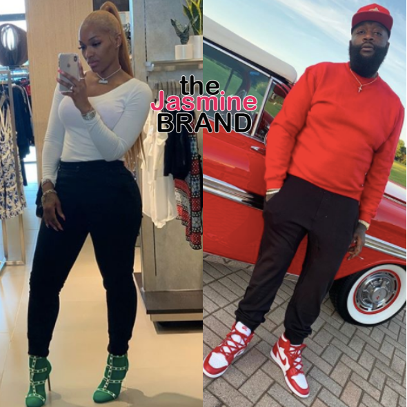Rick Ross' Baby Mama Briana Camille Wants Him Tested For COVID-19 Before Granting Visitation For Their 2 Children
